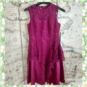 Eliza J. Overlay Lace Dress